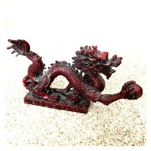 🐉Asian-Inspired Dragon Statue